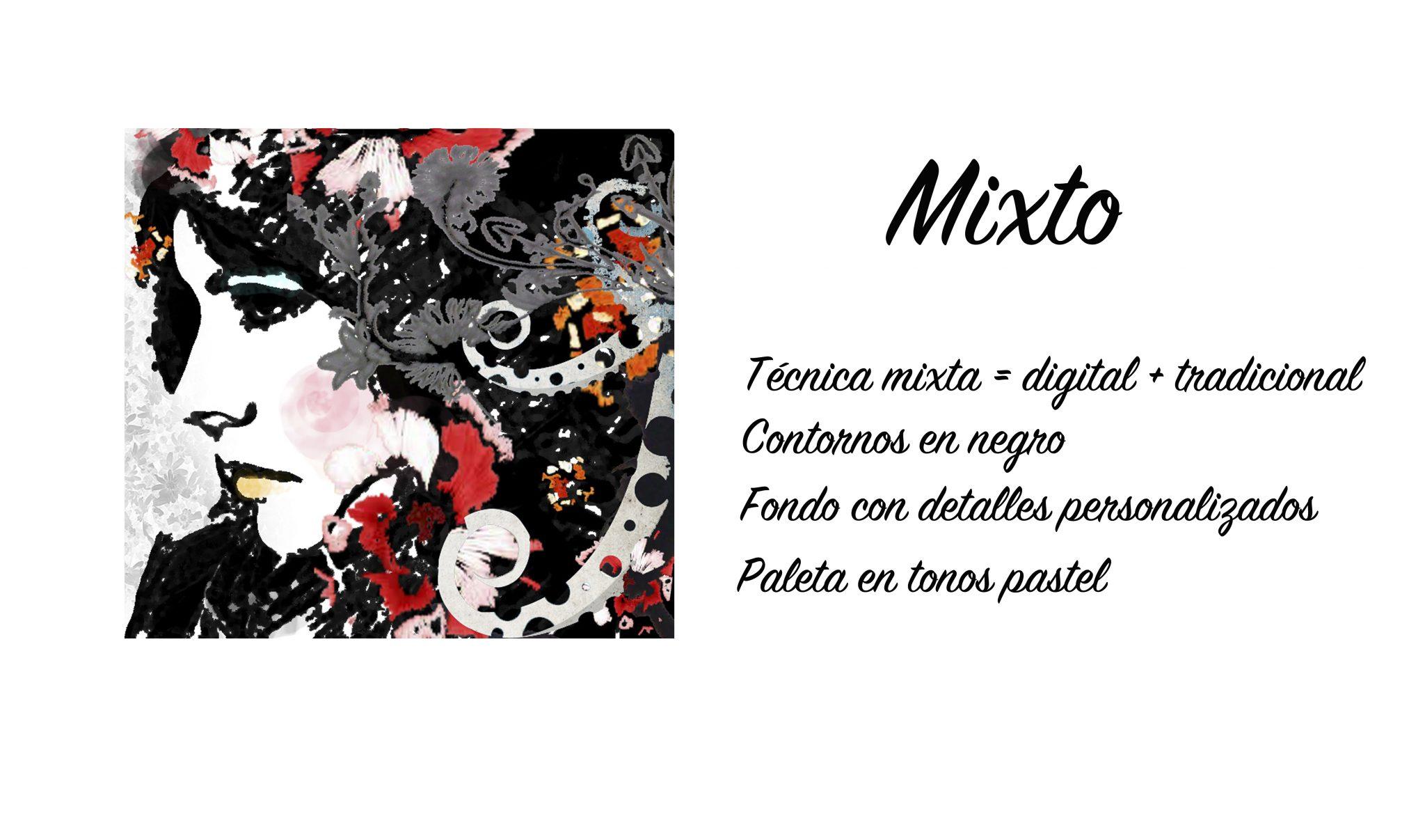 EL ESTILO «MIXTO»: RETRATO QUE MEZCLA LO ANALÓGICO Y LO DIGITAL