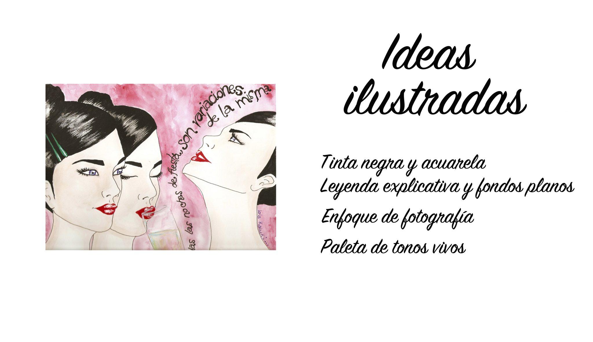 «IDEAS ILUSTRADAS»: RETRATOS REALISTAS CON LEYENDA