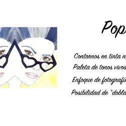 RETRATOS ESTILO POP