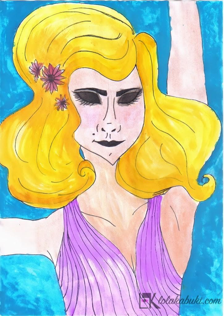 """Diva Rubia"" de Lola Kabuki"