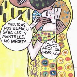 """ILUSTRACIONES STOPCOMPRAS: """"MODA Y DOPAMINA"""" Y """"DIETASHOPPING"""""""