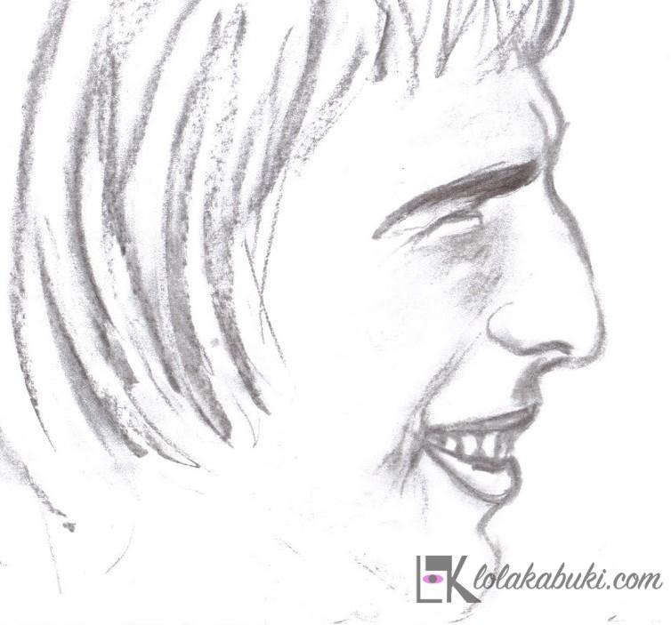 """Carboncillo 5"" por Lola Kabuki"
