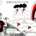 LAS TRES PRIMERAS VIÑETAS DE HUMOR DE LOLA & TXABI