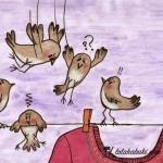 «ANIMALES CON HUMOR» ILUSTRACIONES EN TINTA Y ACUARELA