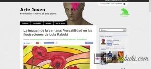 IMAGEN DE LA SEMANA DEL BLOG ARTE JOVEN DE CAJA MADRID: LOLA KABUKI