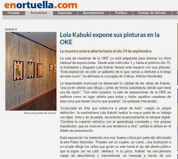 Lola Kabuki entrevistada