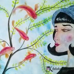 """""""Peces"""" de Lola Kabuki"""