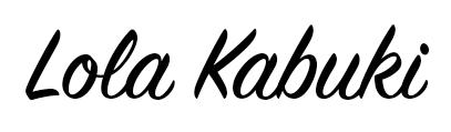 Lola Kabuki, arte personalizado