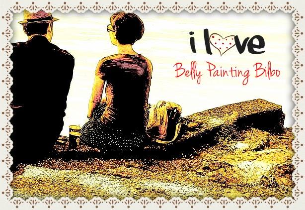 Belly Painting Bilbo por Lola Kabuki.