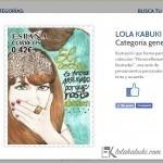 """LOLA KABUKI PARTICIPA EN EL CONCURSO DE """" DISELLO III """""""