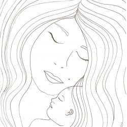 POSTAL DÍA DE LA MADRE «ABRAZO FRONTAL»