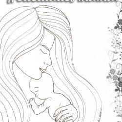 POSTAL DÍA DE LA MADRE «ABRAZO PERFIL»