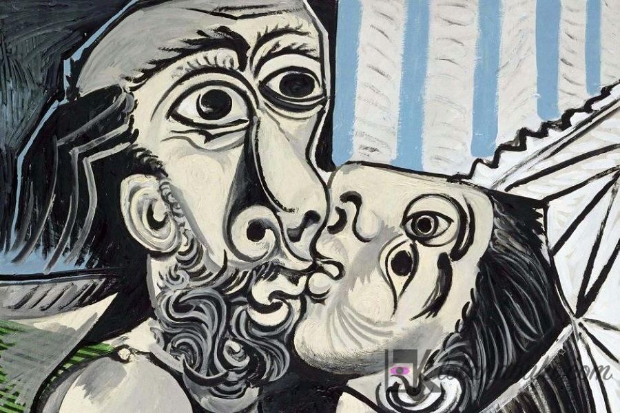 EL BESO. PABLO PICASSO (1969)
