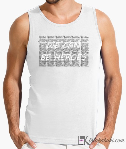 "CAMISETA ""HEROES"""
