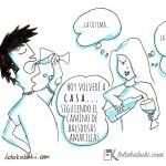 «INVOLUCIÓN» VIÑETAS DE HUMOR DE LOLA & TXABI