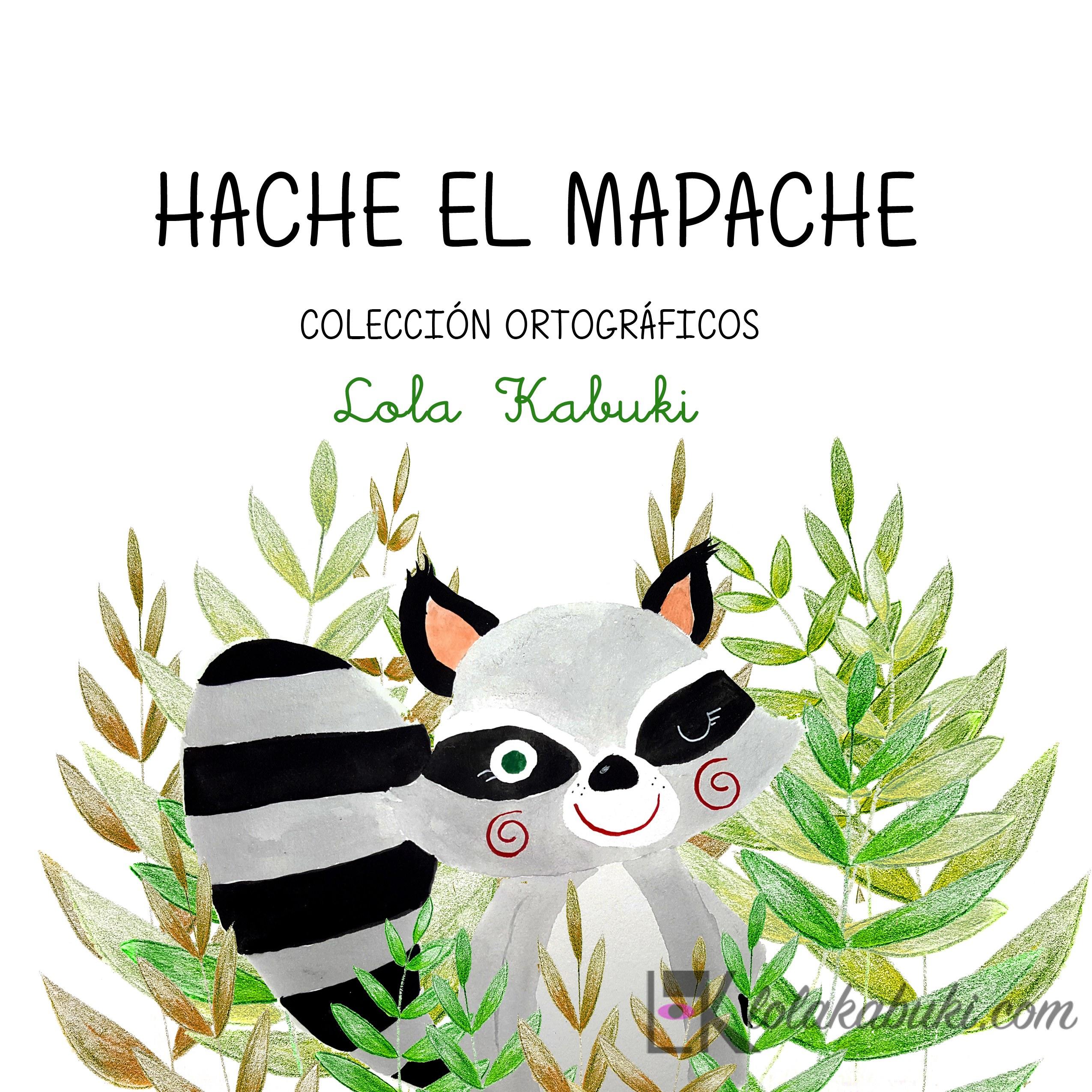 PORTADA HACHE EL MAPACHE