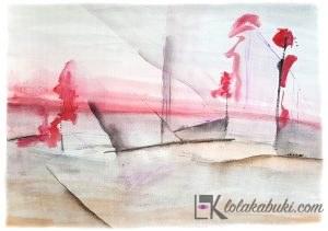 DEEP SEA, NUEVA COLECCIÓN DE ACUARELAS PARA LA GALERÍA SAATCHI ART