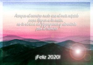2020 ¡FELIZ AÑO NUEVO!